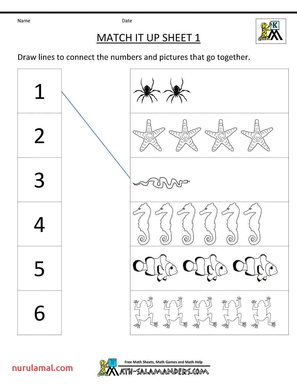 Free Educational Worksheets to Print Learning Printable