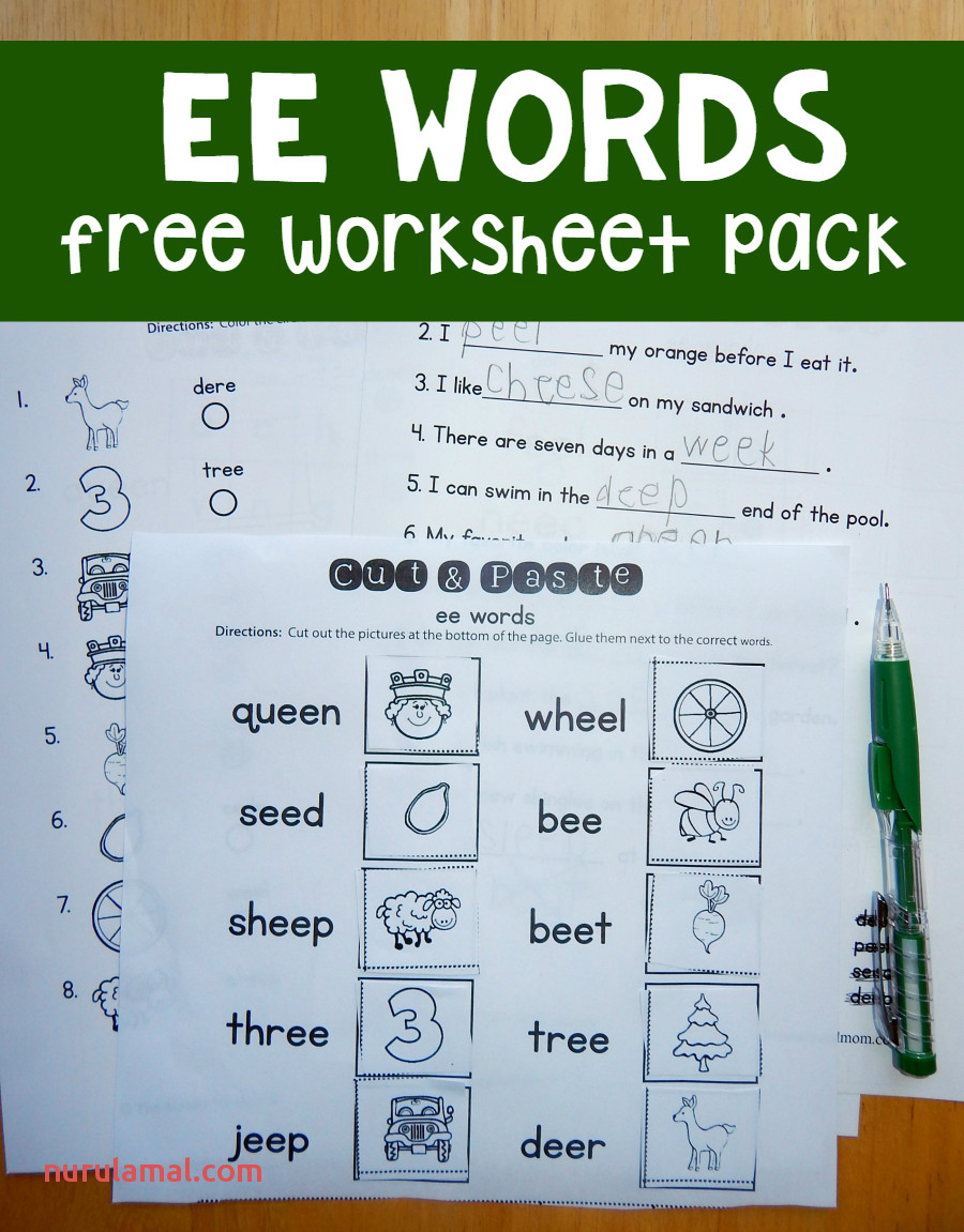 Free Ee Worksheets the Measured Mom