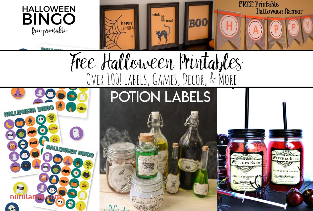 Free Halloween Printables Round Up Over 100 Free Printables