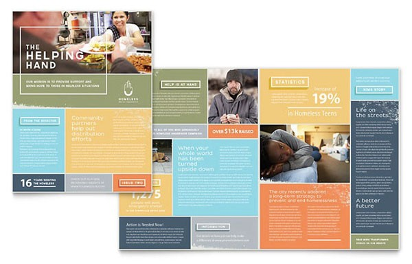 Free Indesign Template Of The Month Newsletter Premium