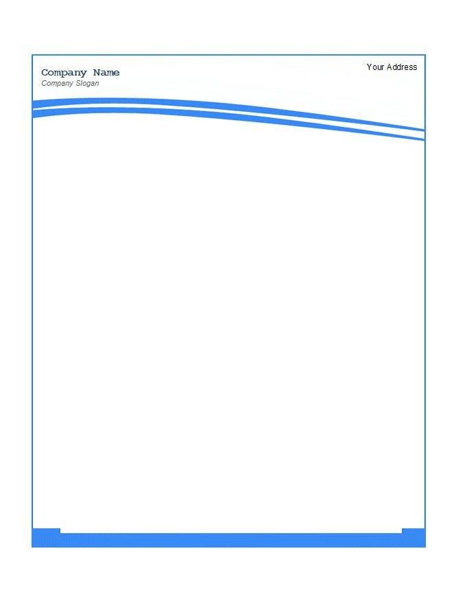 Free Letterhead Templates Examples Free Template