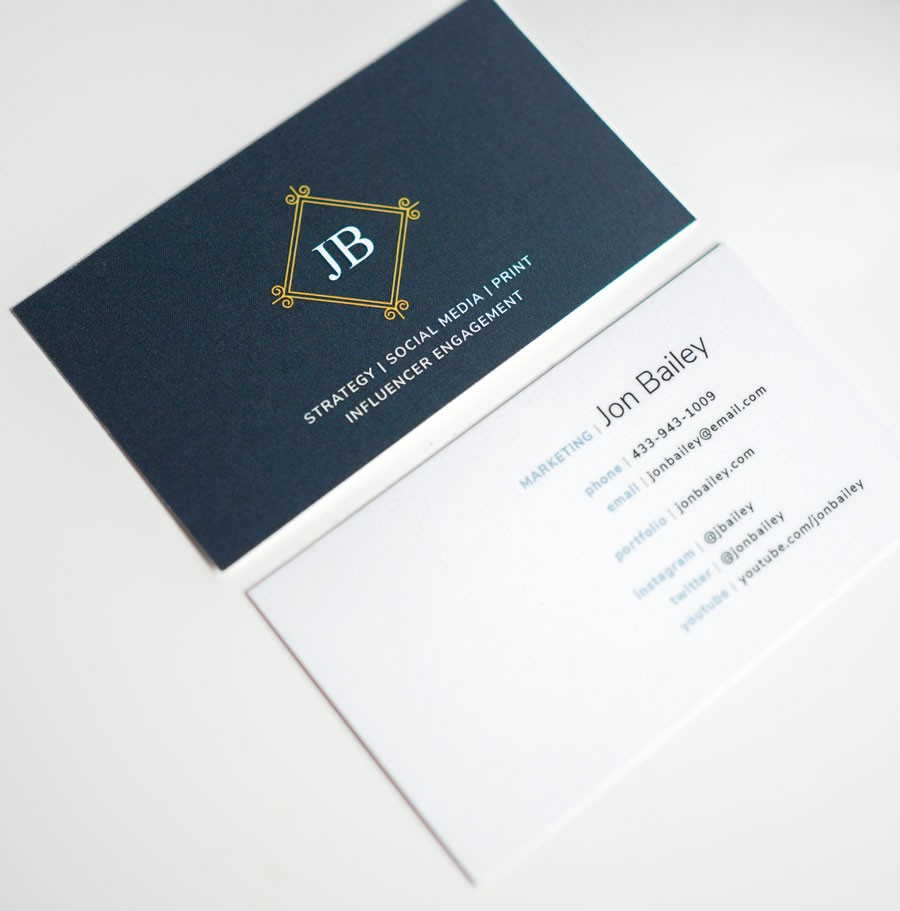 Free Modern Business Card Templates Why Business Cards