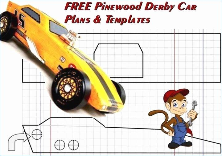 Free Pinewood Derby Car Templates Lovely Aerodynamic