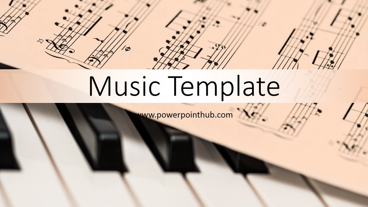 Music Notes Templates Free
