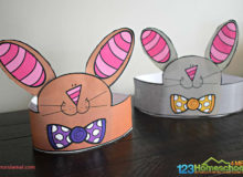 Free Printable Bunny Ear Hat