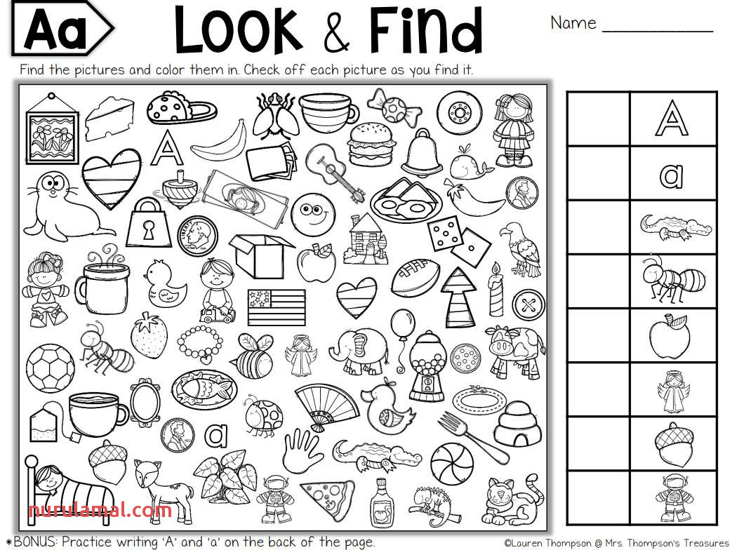 Free Printable Hidden Picture Puzzles for Kids
