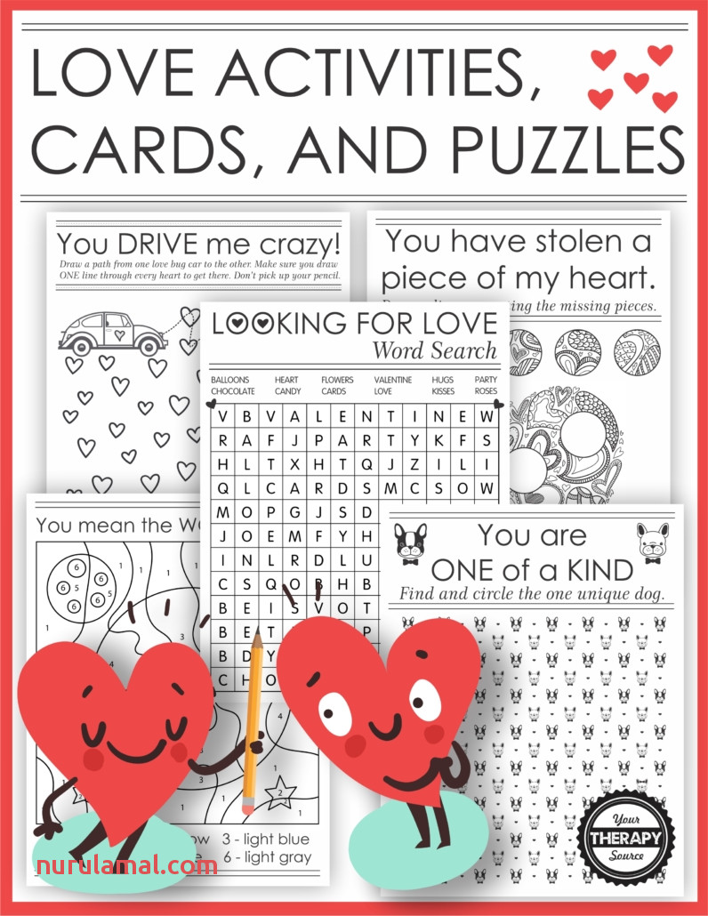 Free Printable Love Coupons Great for Handwriting Practice