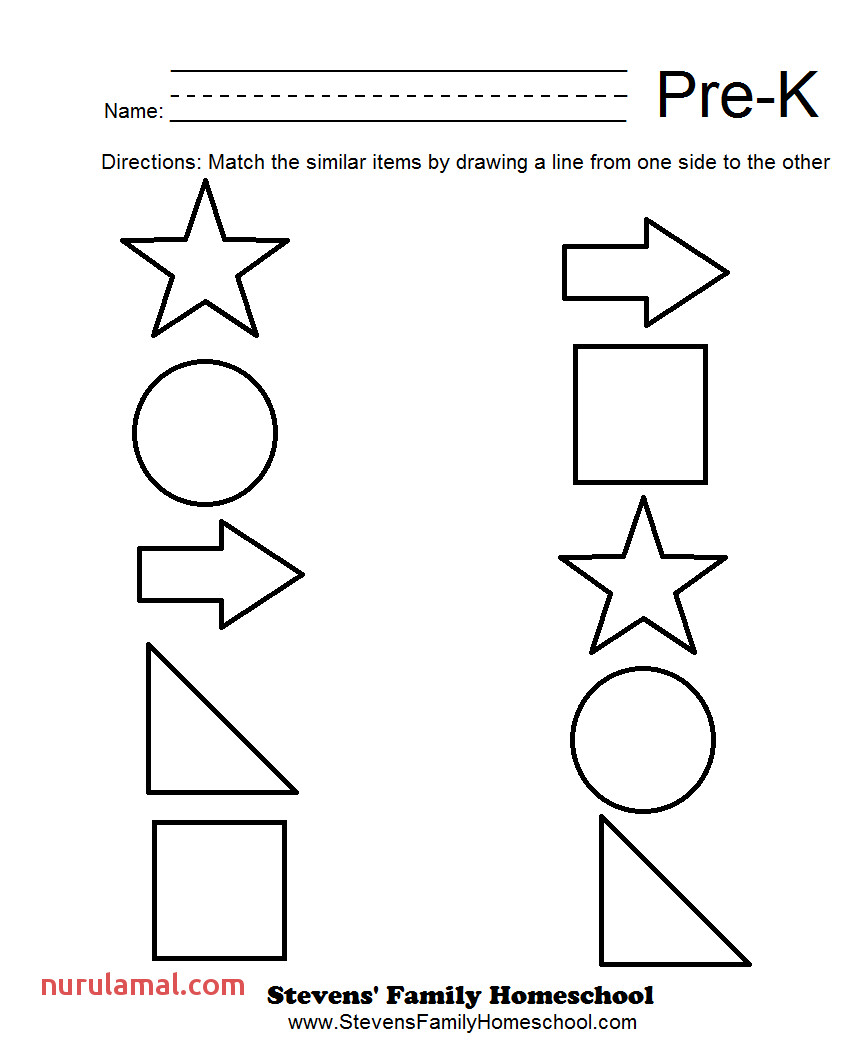 Free Printable Matching orksheets for toddlers Printables