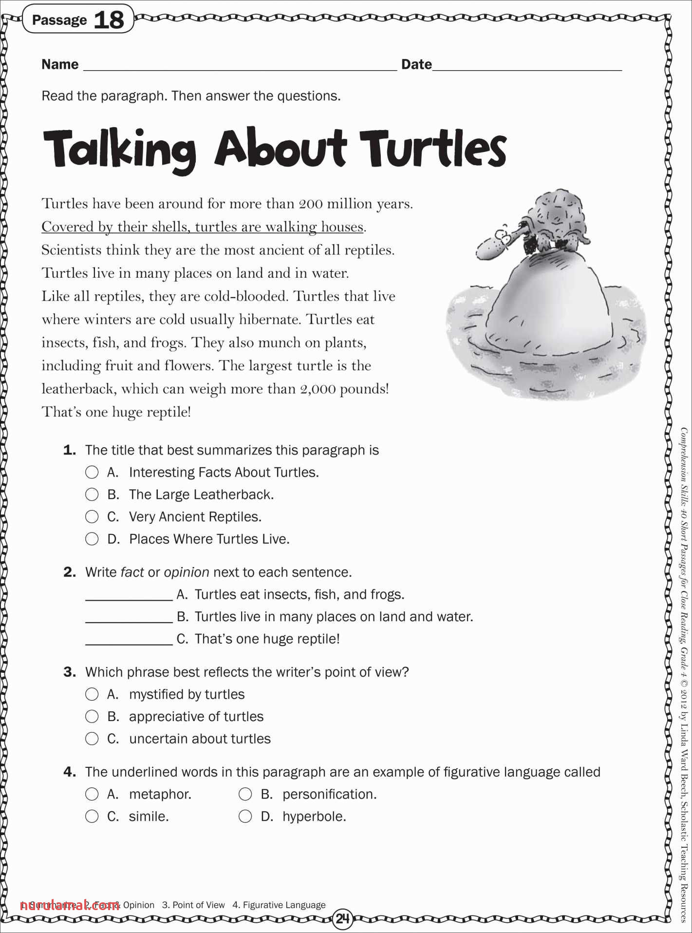 Free Printable Reading Worksheets for 2nd Grade Best Of Free
