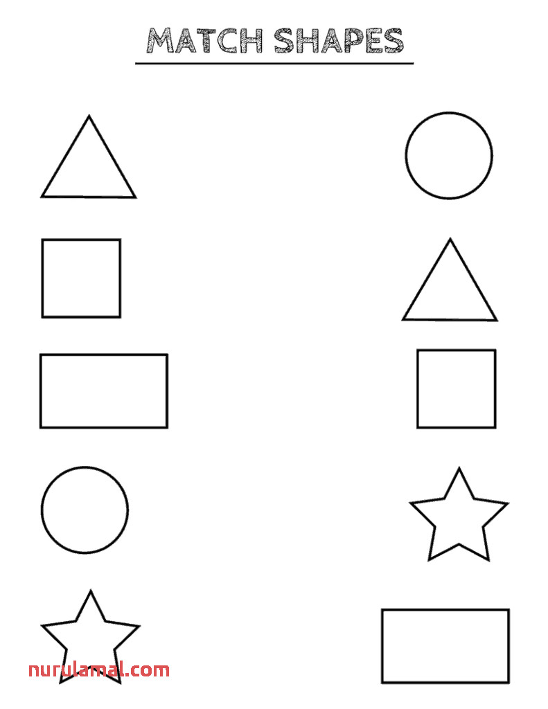Free Printable Shapes Worksheets toddlers and