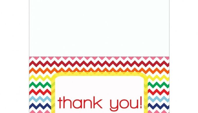 Free Printable Thank You Card Template Word Penaime.com