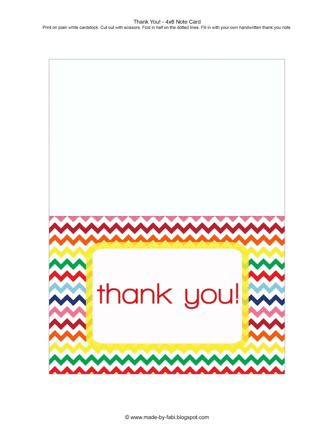 30+ Thank You Card Template Word