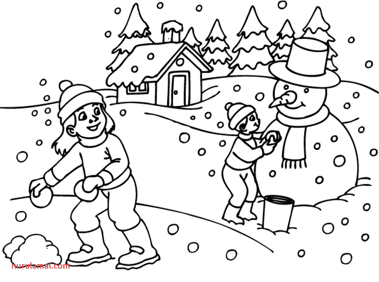 7a8c5dbe6428e12f024c5d044b3e5885 18new free printable winter coloring pages clip arts coloring 1329 992