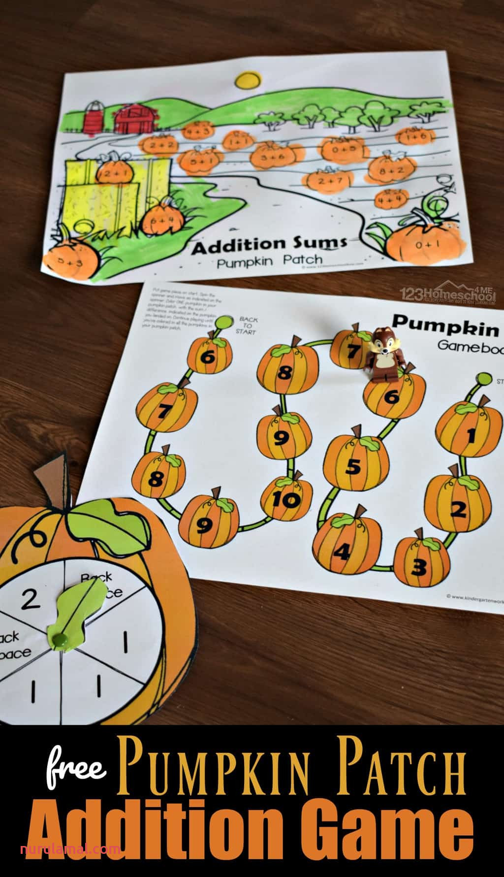 Free Pumpkin Patch Addition Game