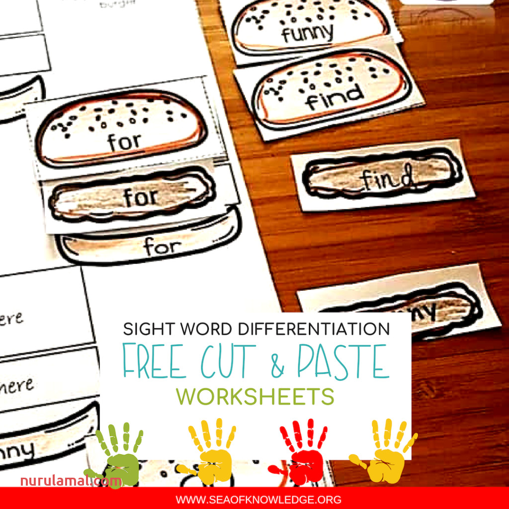 Free Sight Word Worksheets Sea Of Knowledge