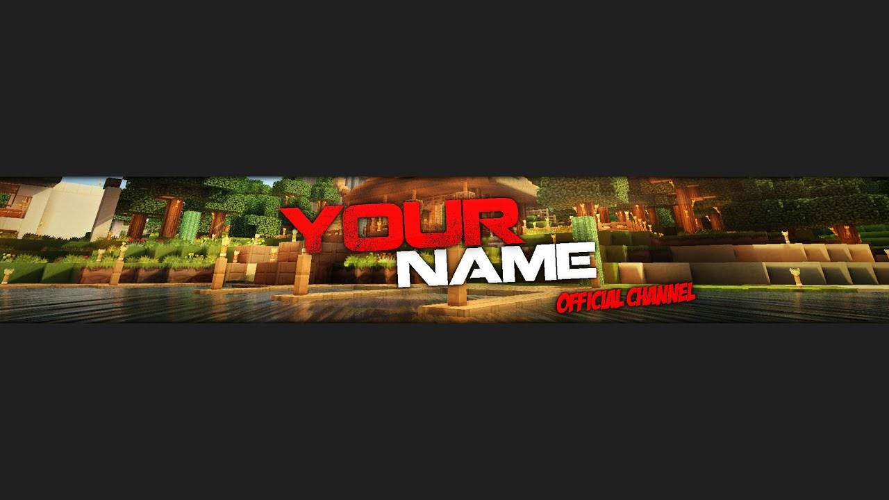 Free To Use Minecraft Banner Template Download Link