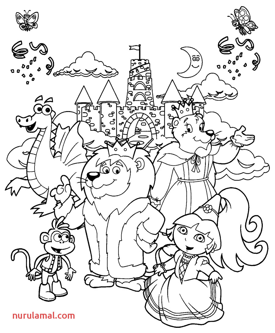 Free Zoo Printables Coloring Pages Pusat Hobi