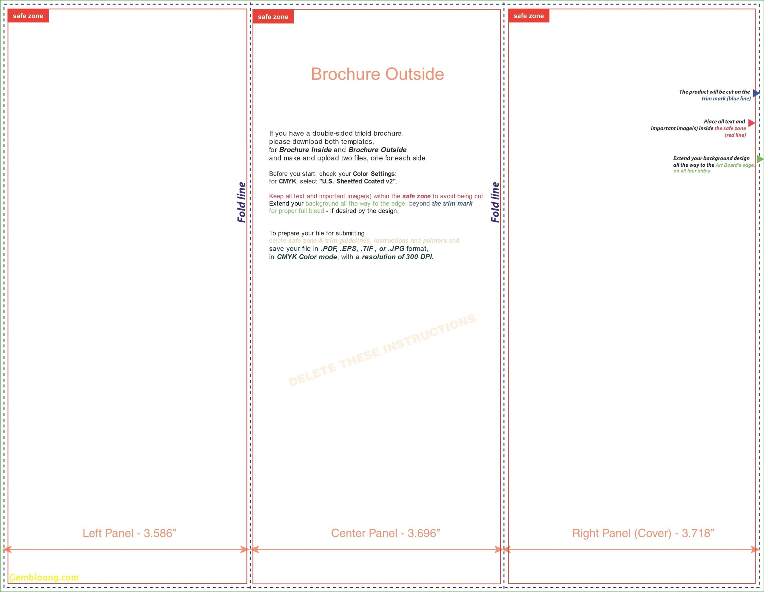Fresh Pamphlet Template Google Docs Best Sample