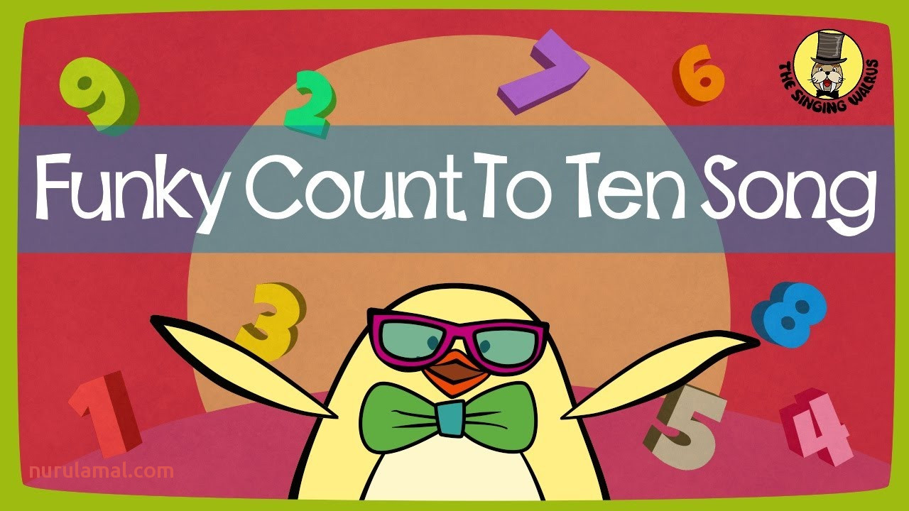 Funky Counting song Numbers 1 10