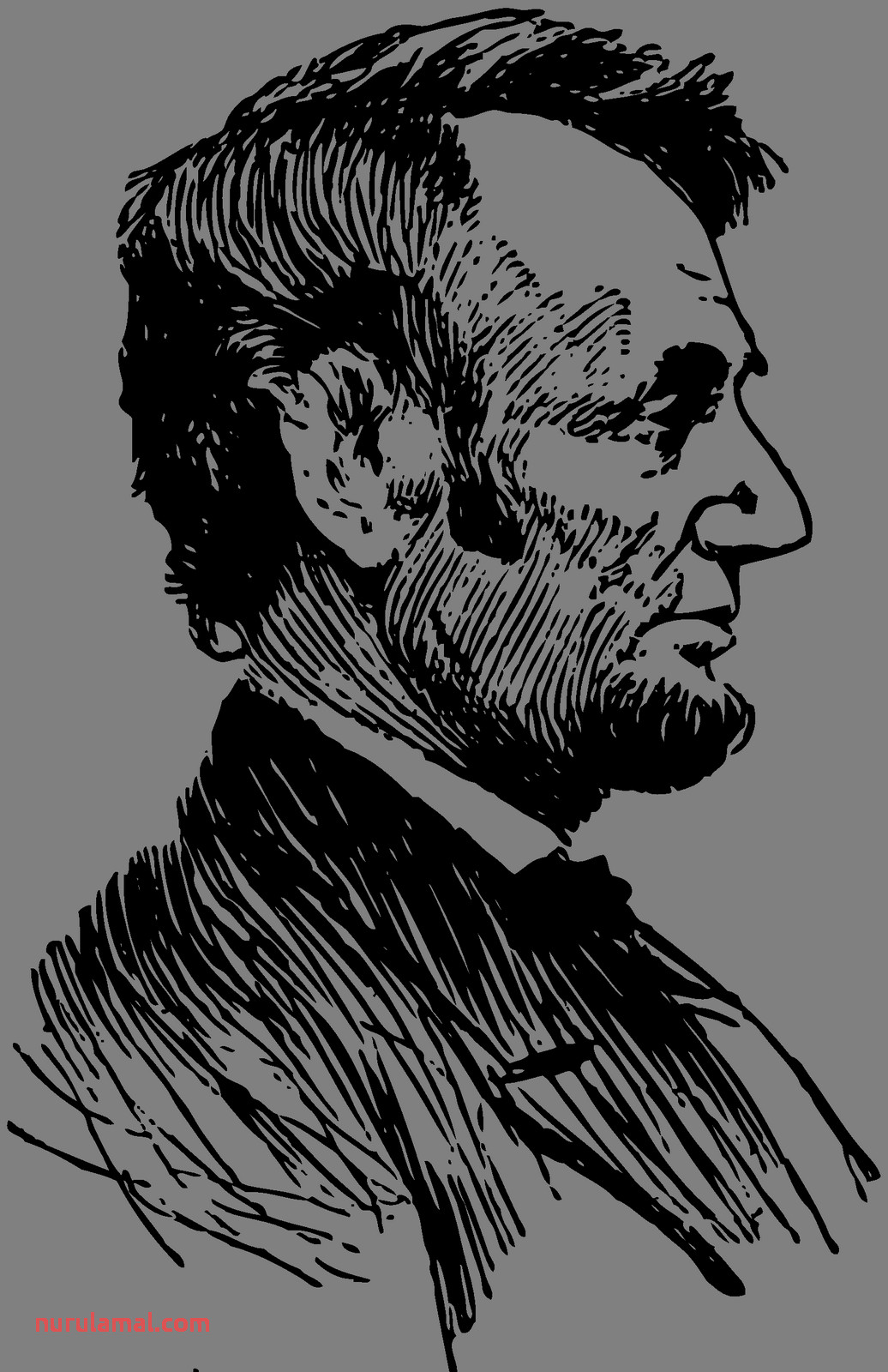 abe lincoln silhouette 4