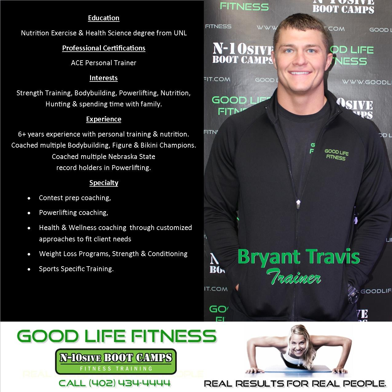 Good Life Fitness Center N Sive Boot Camp Lincoln