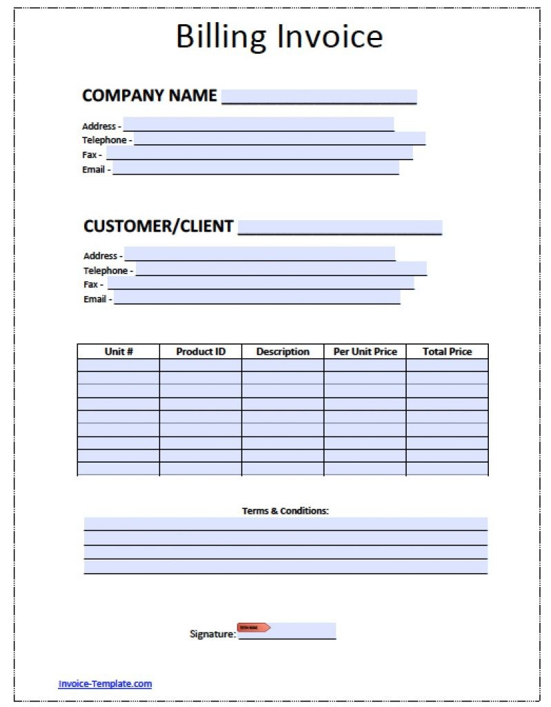 Google Spreadsheet Invoice Template Google Spreadshee