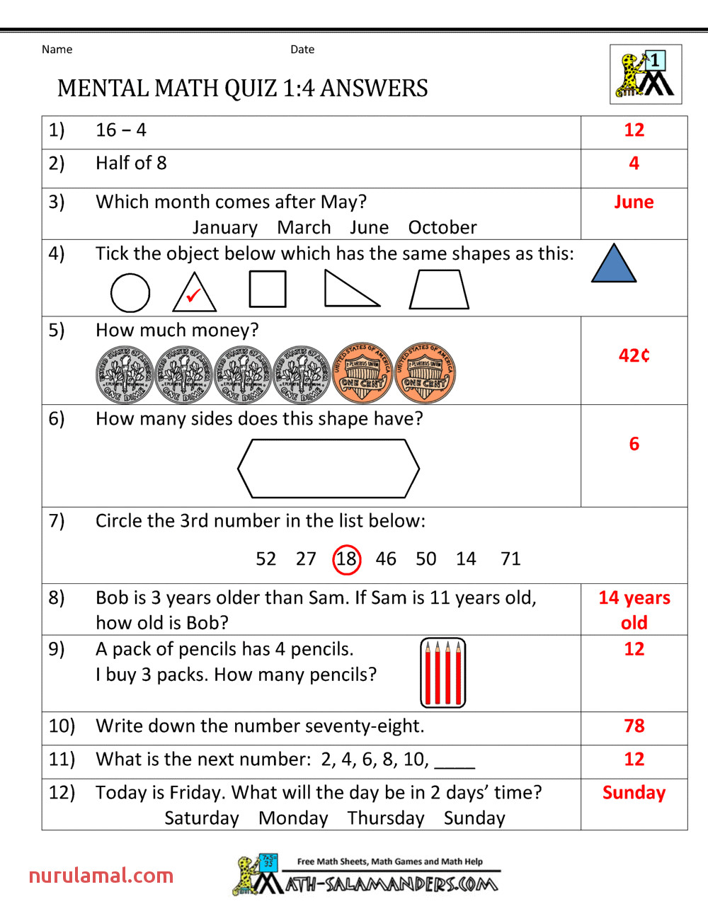 Grade 11 Math Worksheets & 1000 Images About Printable Math