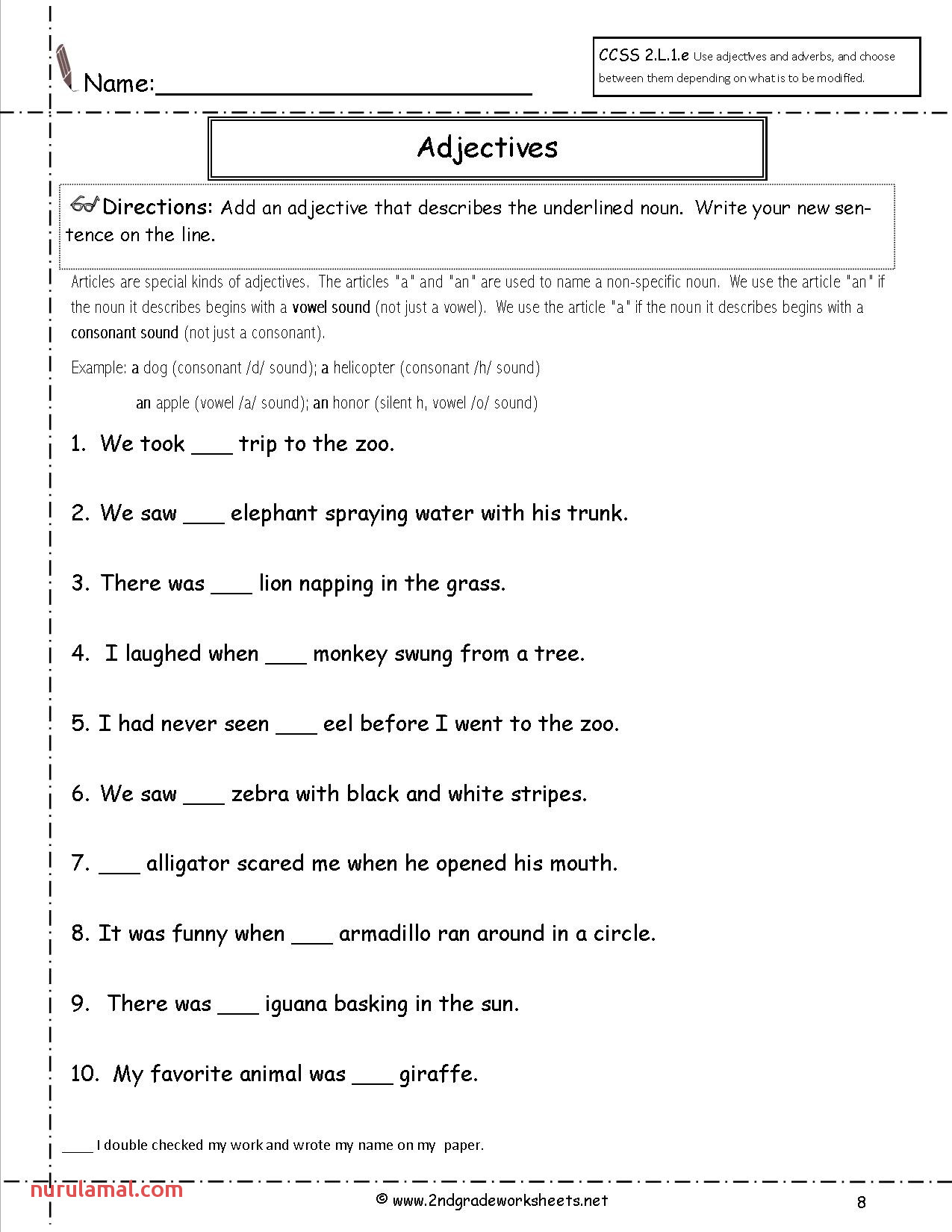 Grade Spelling Words Sheets Kids Pdf Free Languagegrammar