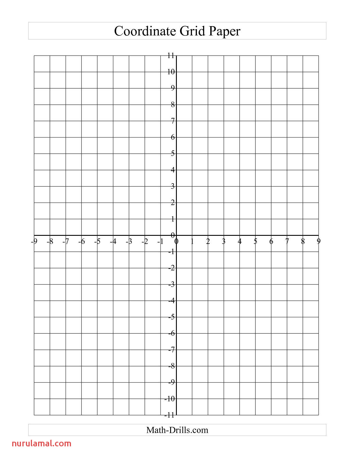 Graph Paper Coordinate Plane Hamled7