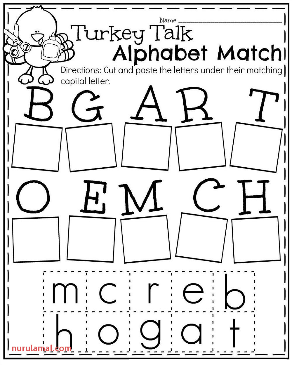 Guide Your Child to Learn His Lowercase Handwriting with