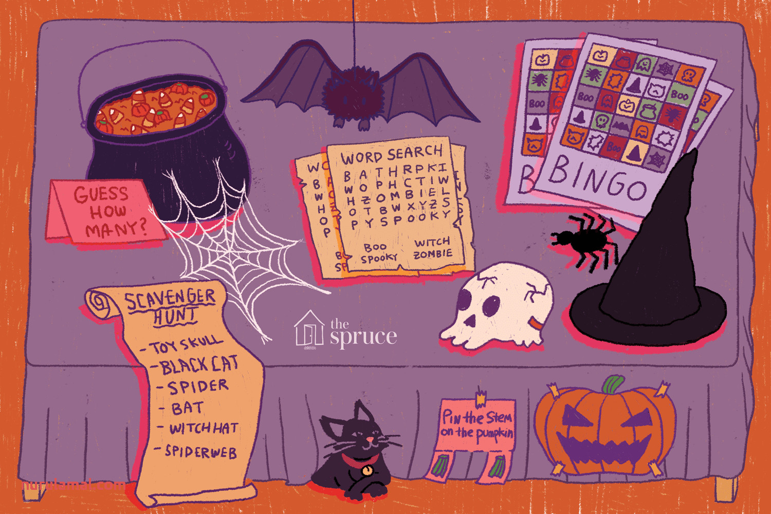 Halloween Party Game Ideas for All Ages