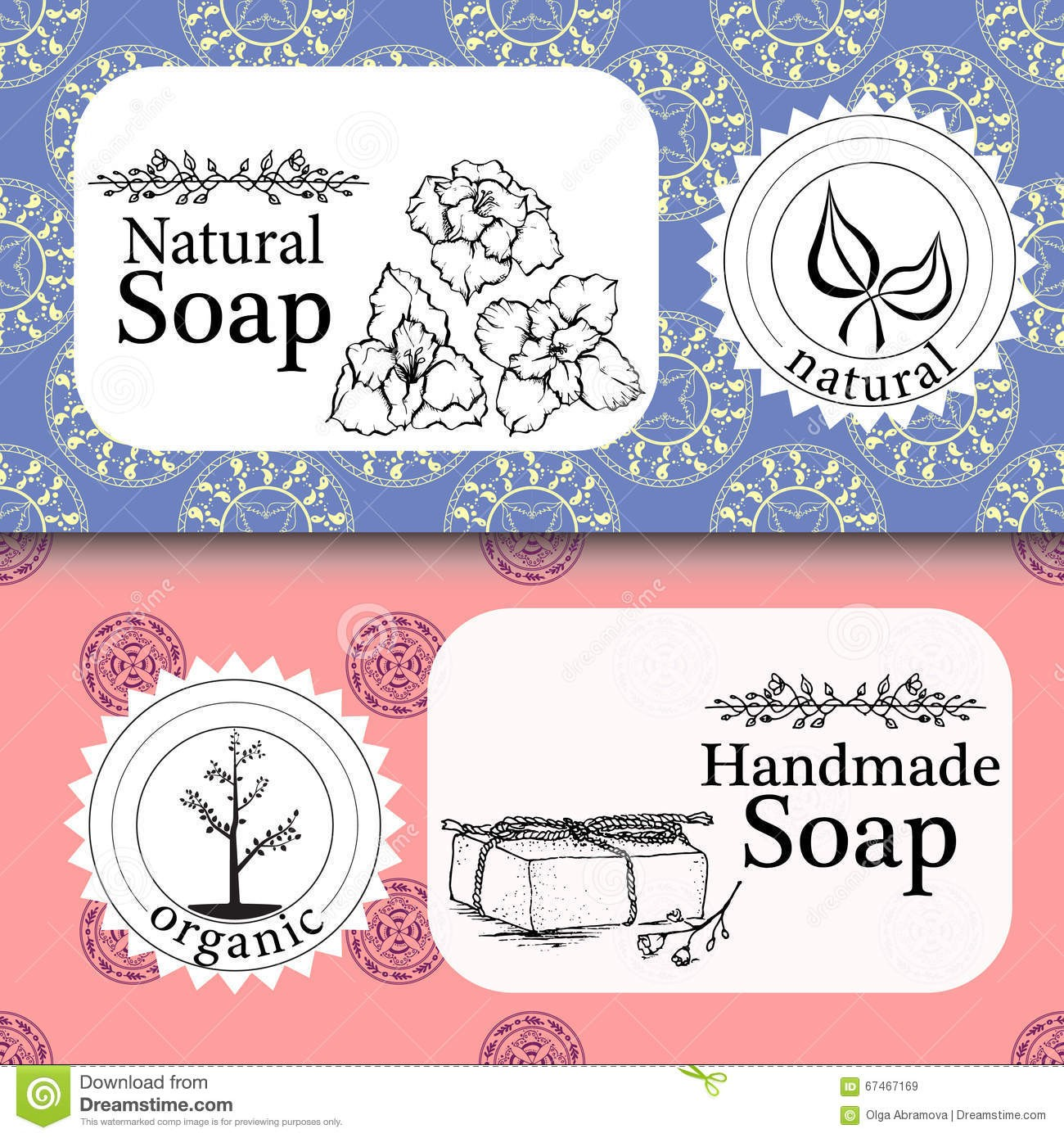Handmade Soap Label Template Printable Label Templates