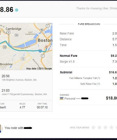 How To Get Your Uber Receipt Rideordriveuber