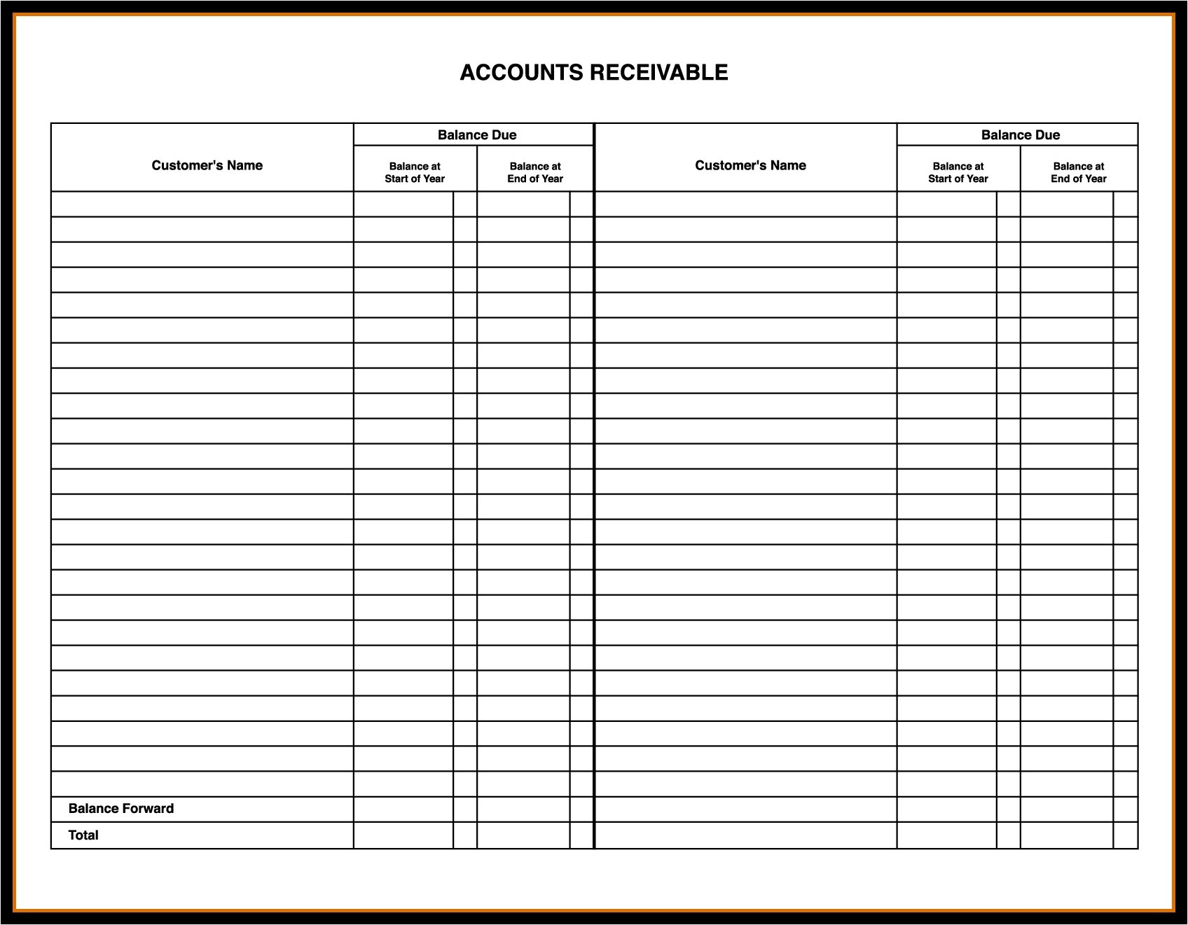Ideas Of Stock Certificate Ledger Template In Stock