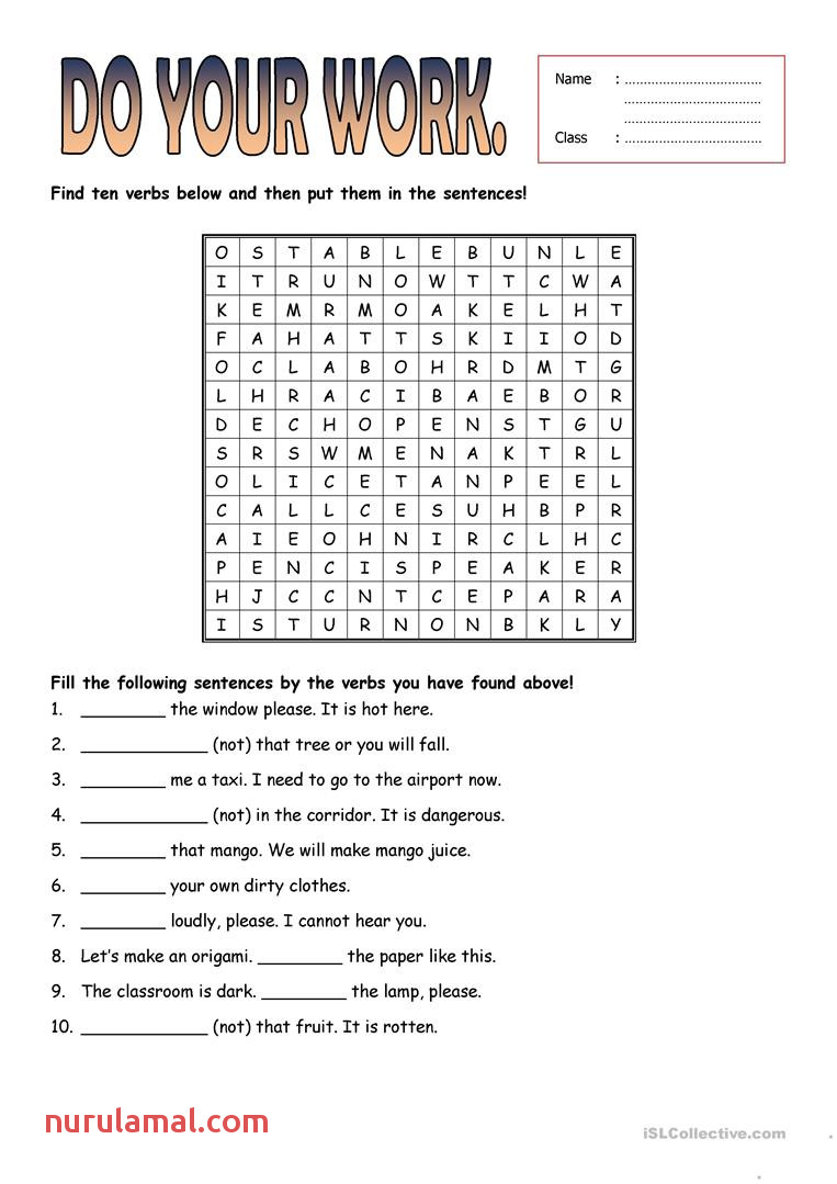 Instructions and Prohibitions Worksheet English Esl Worksheets