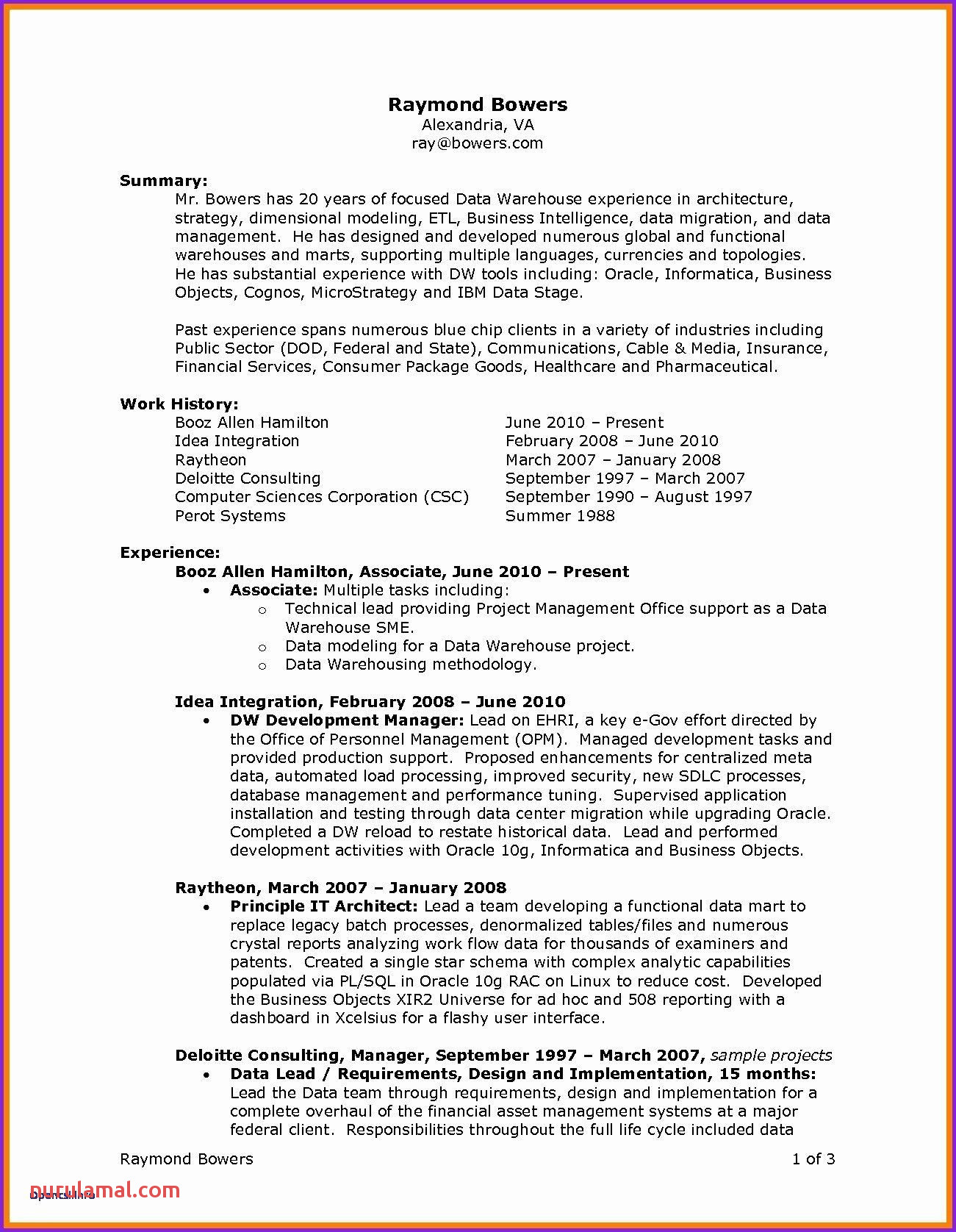 It Director Resume Great Best Examples Resumes Ecologist