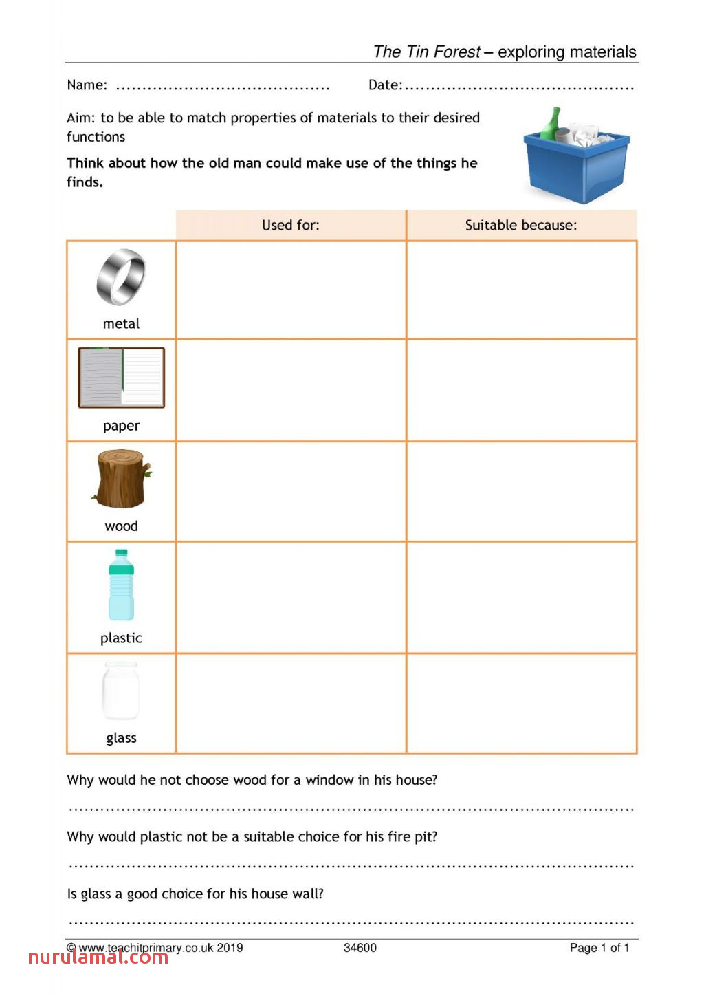 Kids S Science for Grade Materials Paring Natural
