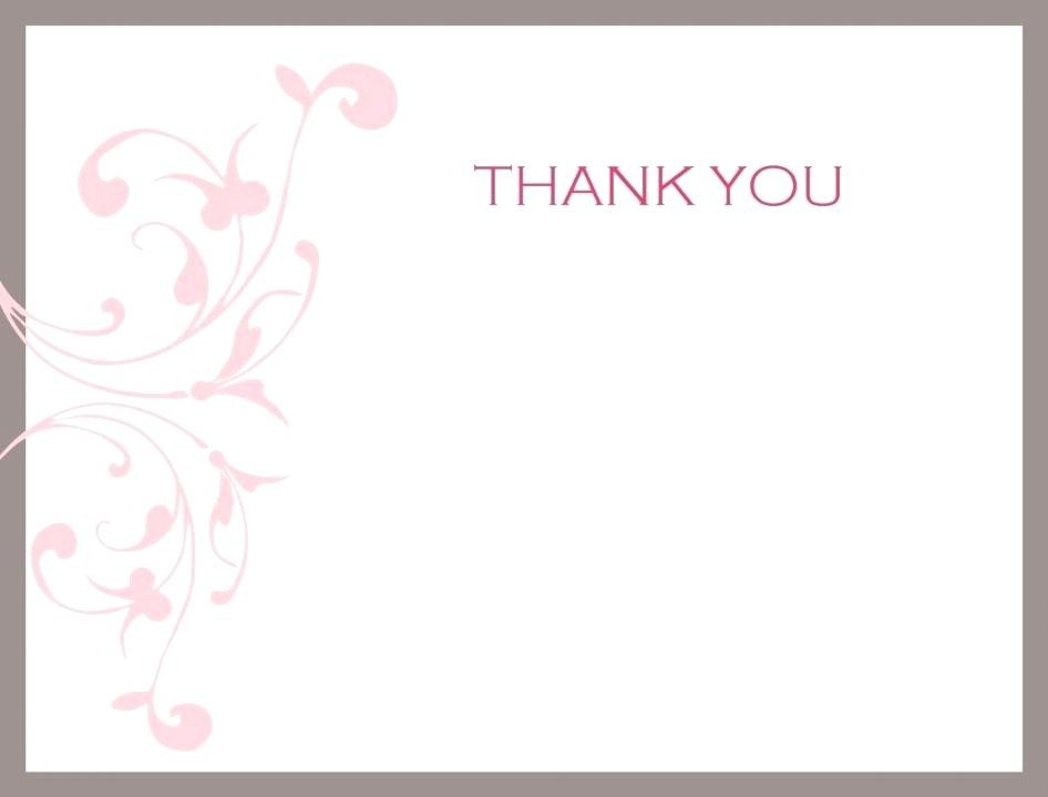 Kids Thank You Note Template Giancarlosopo.info