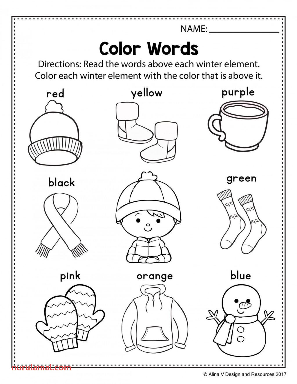 kindergarten 2nd grade holiday worksheets pictures word family for cond 1024x1325