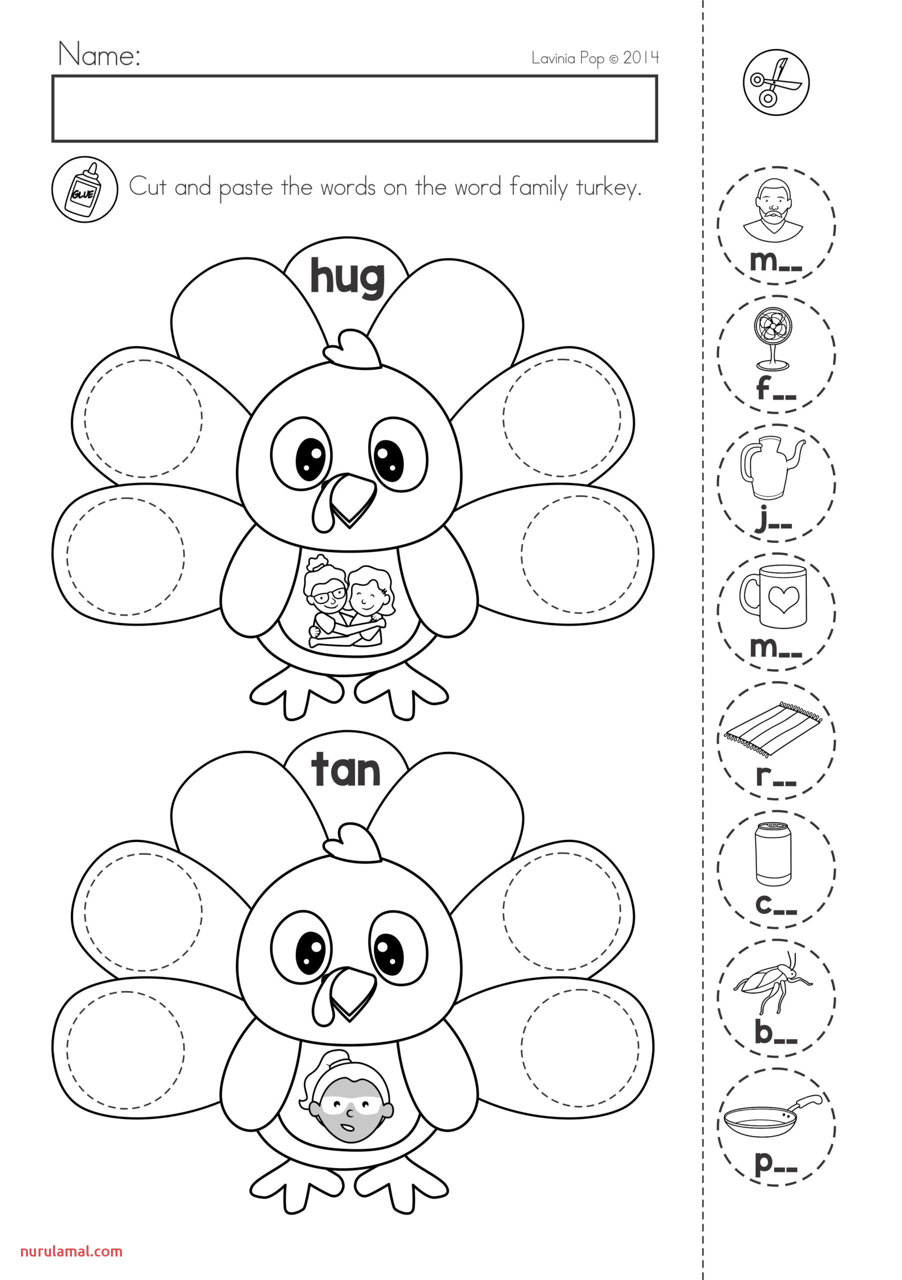 Kindergarten Projects Character Education Worksheets for