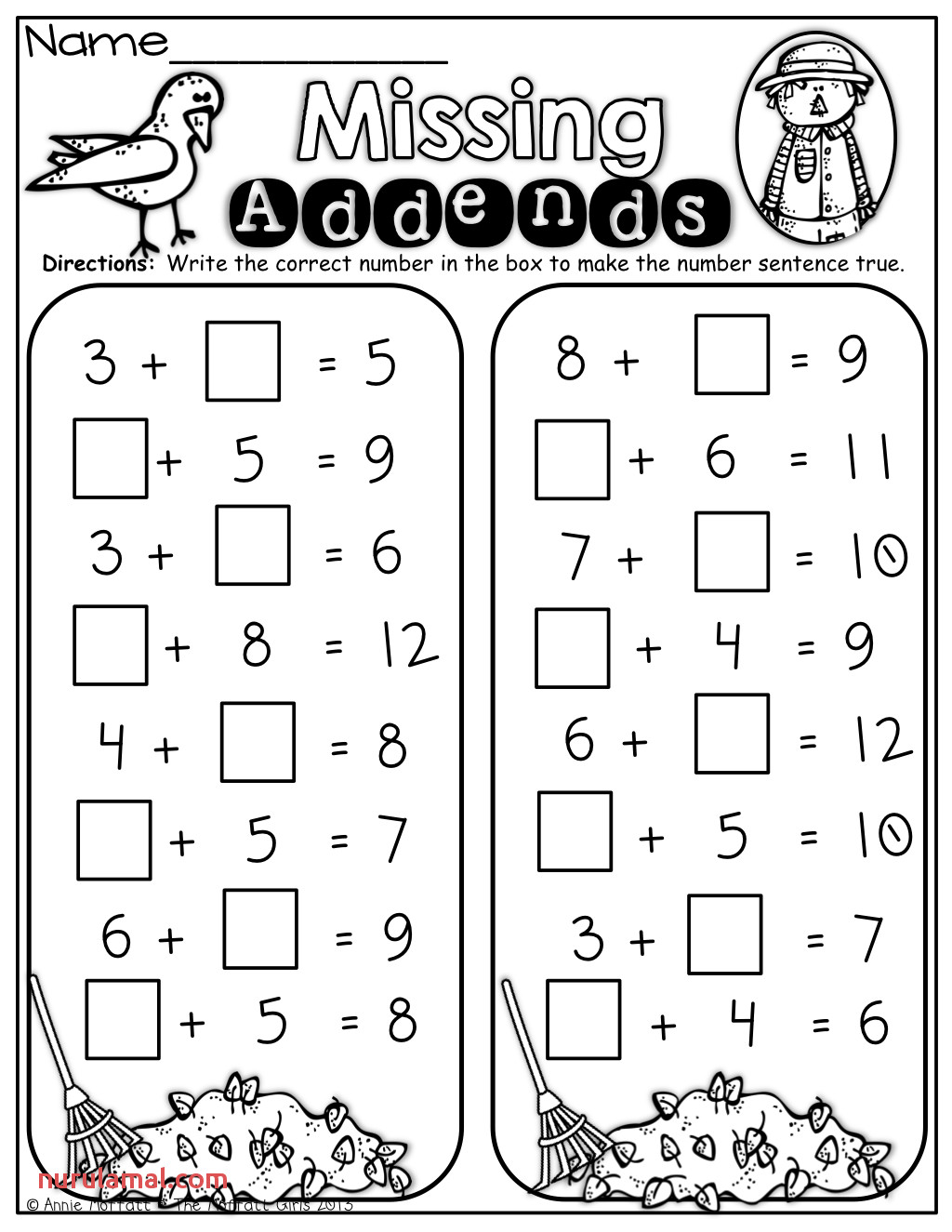 Kindergarten Worksheet 2nd