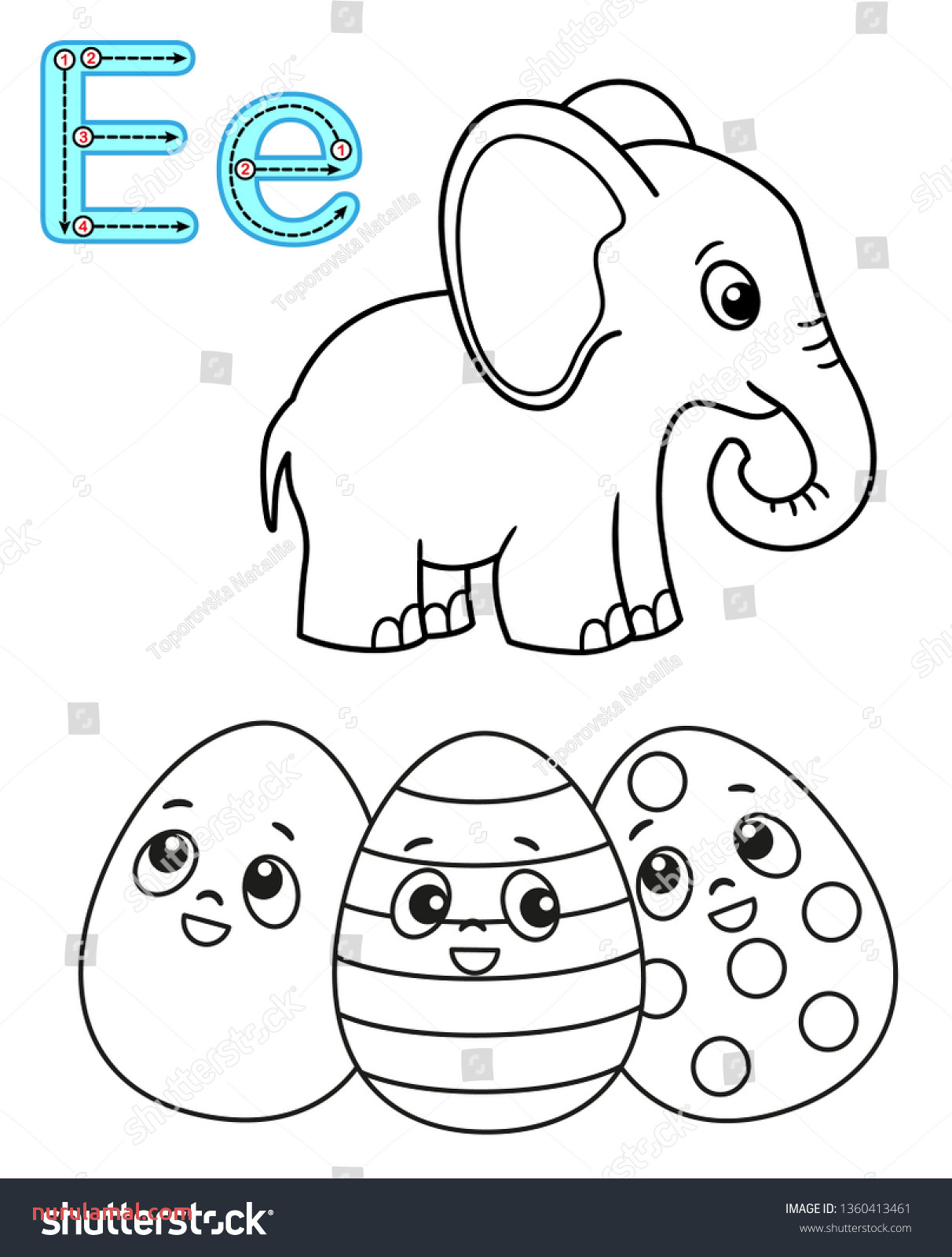 Kindergarten Worksheets Easter Printable for Kindergarten