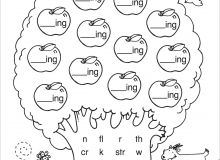 Kindergarten Worksheets Free Printable Preschool English