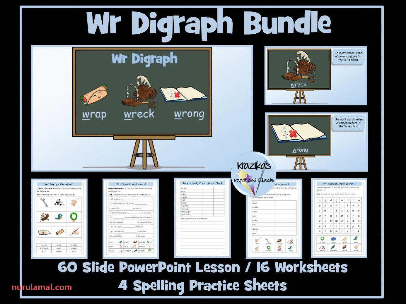 Kn and Gn Digraphs