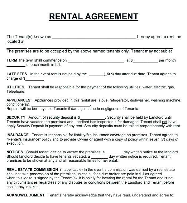Landlord Not Renewing Lease Letter To Tenant Poemdoc.or