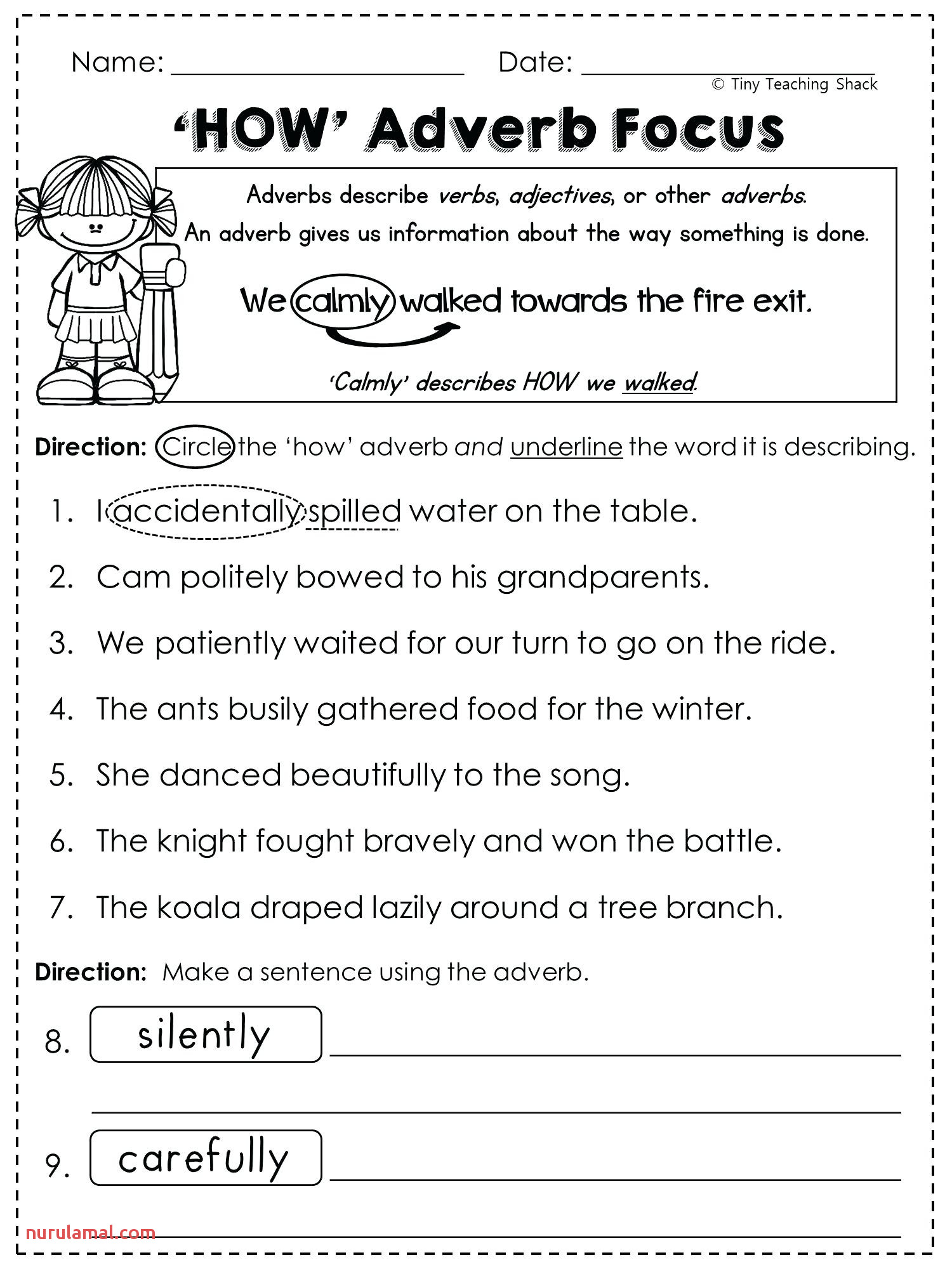 Language Arts Worksheets torund7