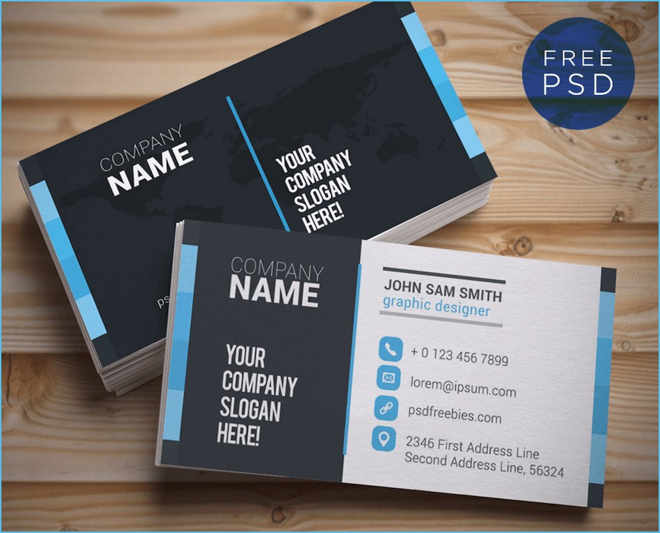 Law Enforcement Business Card Templates Free New Design