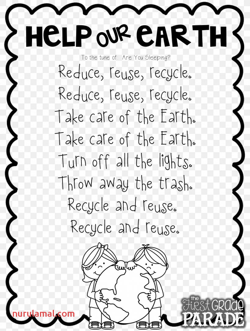 Let S Get Ready for Earth Day Poetry Worksheet Png