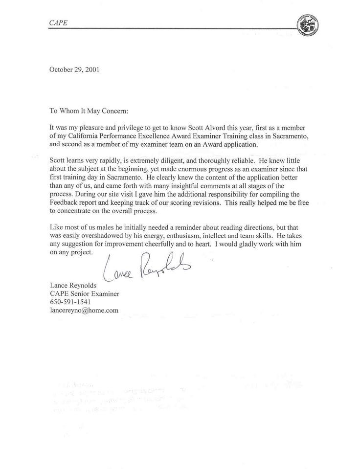 Letter Of Recommendation For Immigration Templates Free