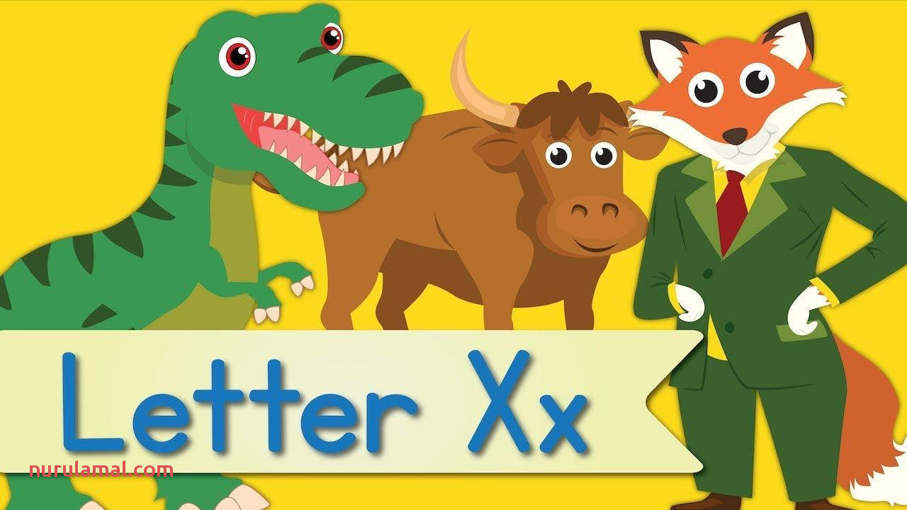 Letter X song Animated Have Fun Teaching